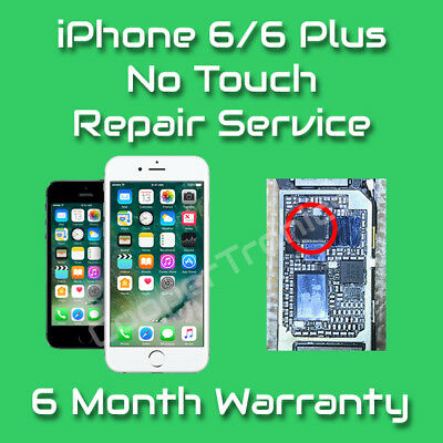Apple iPhone 6 Plus Touch IC Disease Repair (No Touch, Grey Bars) Permanent Fix