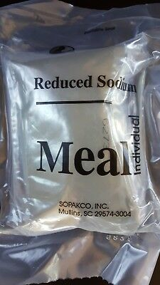 2019 MRE Meals Ready To Eat Sopakco Reduced Sodium Military Survival Food