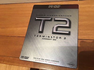 T2 Terminator 2 Judgment Day Ultimate HD-DVD SteelBook Edition *SUPER*RARE* OOP