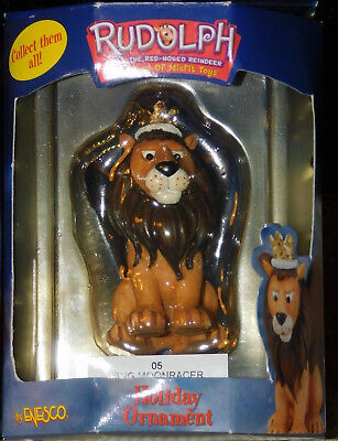 King Moonracer Ornament Rudolph Island of Misfit Toys  Rare LION