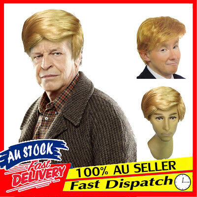 Donald Trump Fancy Dress Party Halloween Costume Accessory Hair Wig Billionaire
