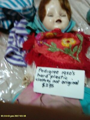 Pedigree doll ?1950's or 60's