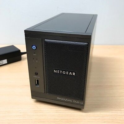 NETGEAR ReadyNAS RND-2b (RND2000-200AJS) [PS not included] [HARD-DRIVES REMOVED]