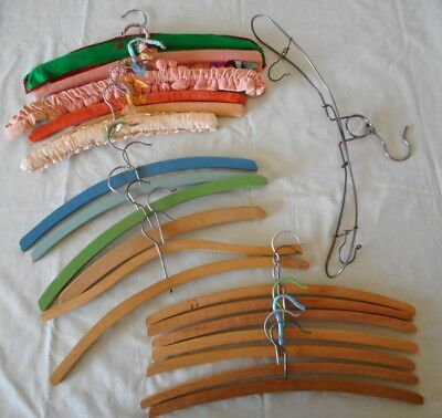 Bulk Lot of Vintage Coat Hangers - a total of 20 coat hangers