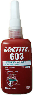 Loctite 603 High Strength - Retaining Compound - Metal Adhesive  Glue 50 Ml