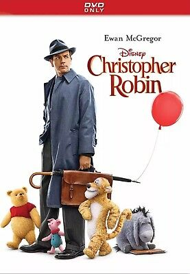 """""""christopher Robin"""" (Dvd,2018) New* Factory Sealed Free Shipping"""