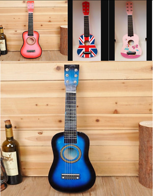 Children Kids Wooden Acoustic Guitar Musical Instrument Child Toy Xmas Gift Uk