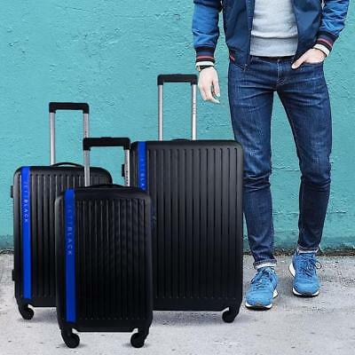 3pc Luggage Suitcase Trolley Set TSA Travel Carry On Bag Hard Case Spin Wheels