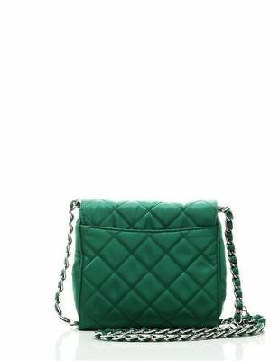 96828f966ef1 NEW Prada Women's Tessuto Impuntu Pattina Crossbody Bag-GreenList price:  $2,110.