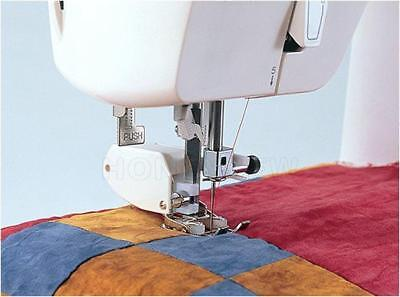 Even Feed/Walking Foot Sewing Machine Presser Foot w/BONUS! Quilt Guide Made to