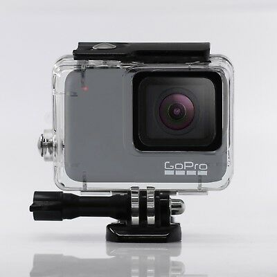 Diving Case for GoPro Hero 7 White Silver Waterproof Protective Housing Case