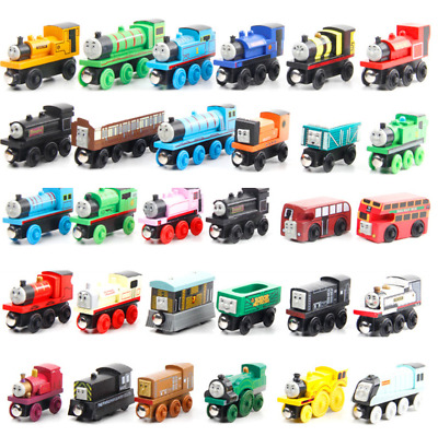 New Thomas And Friends Large Magnetic Wooden Trains Carriages Train Children Toy