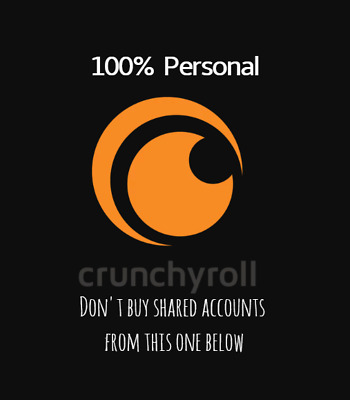 Crunchyroll Premium 1 YEAR ACCOUNT WARRANTY Fast DELIVERY WORLDWIDE Not SHARED