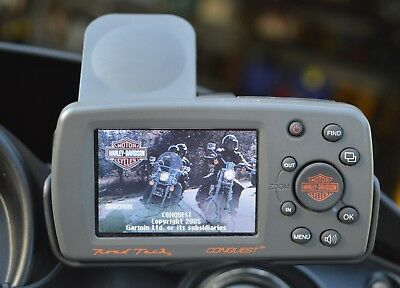 Harley Davidson Gps Road Tech Conquest, Plugged In Works Perfectly