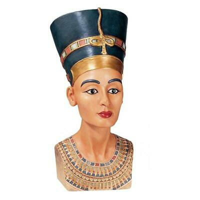 "12"" Royal Egyptian Collectible Queen Nefertiti Ruler Of The Nile Statue"