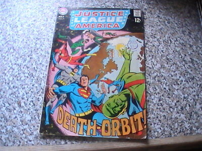 Justice League Of America # 71    Silver Age   Vg+