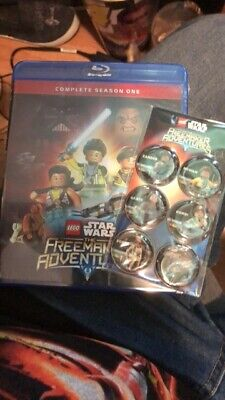 LEGO Star Wars: The Freemaker Adventures complete first season /blu ray...NEW!