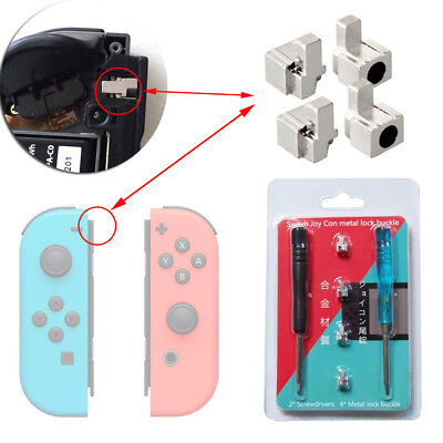Metal Lock Buckle Repair Tool with Screwdrivers For Nintendo Switch NS Joy-Con