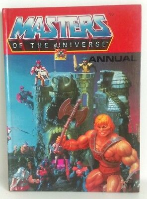 Master Of The Universe Annual 1983 He-Man Toy Cover MOTU Unclipped Rare