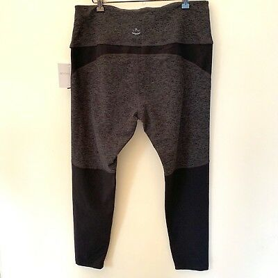 5e174dc334538 NWT - BEYOND YOGA -Spacedye Stirrups Legging Sz Small BLKCH. Gray ...