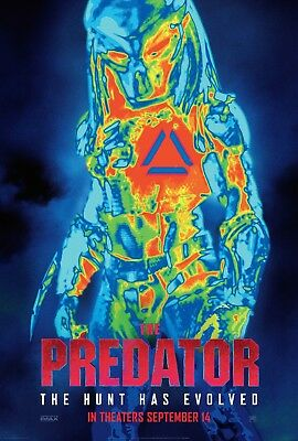 The Predator - Digital Movie Code Only - 2018 - Canadian Code