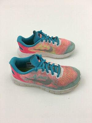 03186751fde5e NIKE FREE RN Grade School Running Shoes - Youth Girls Sz 3Y (833994 ...