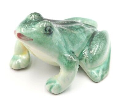 Vintage Ceramic Hollow Frog Statue For Planter or Garden