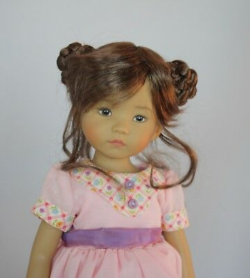 "10"" Boneka ""Lucky"" Wig Size 6-7 Discontinued"