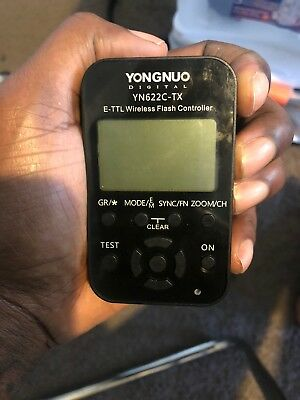 """For Parts""  Yongnuo YN-622C-TX + YN-622C Wireless Flash Trigger Transceiver"