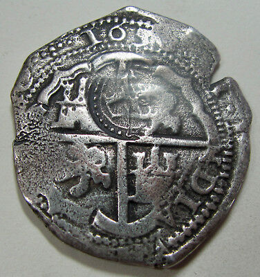 1650 Bolivia 8 Reales Counterstamped