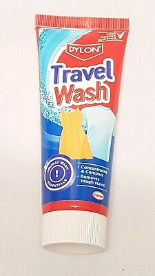 Dylon Travel Wash Concentrated & Compact Non-Bio Colour Safe Holiday 75ml