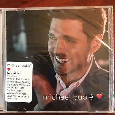 Michael Buble's 2018 CD **❤️** Brand New, Factory Sealed, Free Shipping