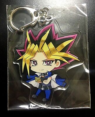 Yugioh Animate Cafe Yami Yugi Pharaoh Atem Keychain Key chain strap holder charm