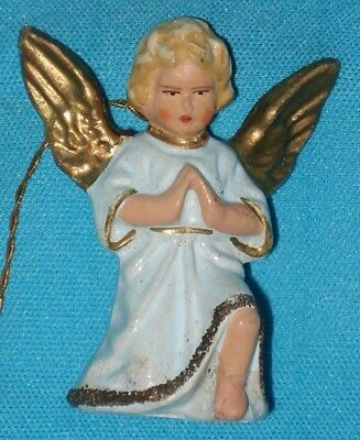 Vintage Western Germany ANGEL Christmas Ornament
