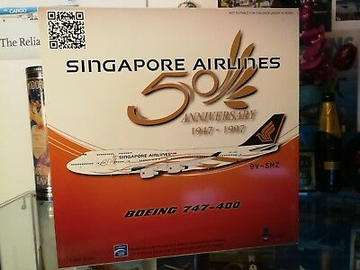Singapore Airlines 747-400 - 50th anniversary 1:200 for sale Inflight