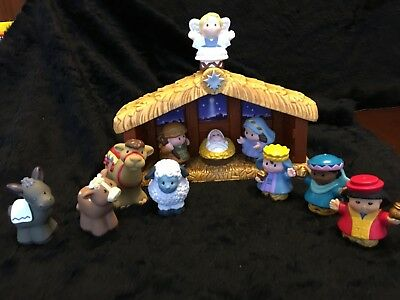 New Fisher Price Little People A Christmas Story Nativity Xmas