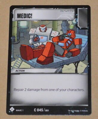 one shall fall R 050//081 Transformers TCG Wave 1 One shall stand
