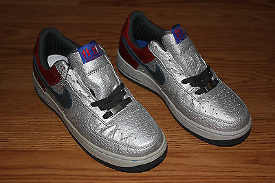 watch 2c324 57d32 2008 Nike Air Force 1 AF-1 XXV Low Premium SIZE 7 BRAND NEW Silver