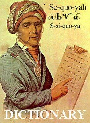 Cherokee Software &  Dictionary On Cd, Native American