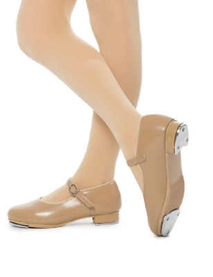 Dance Shoes Mary Jane Buckle Tap Tan Caramel CHILD & ADULT SIZES Lots of Options