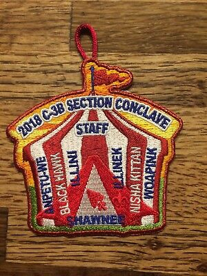 2018 Section C-3B Conclave STAFF Patch