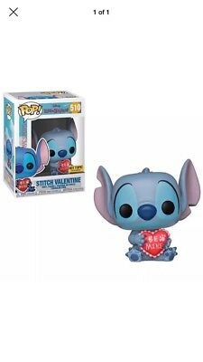 Funko Pop Lilo And Stitch (Stitch Valentine )Hot Topic Exclusive Preorder...