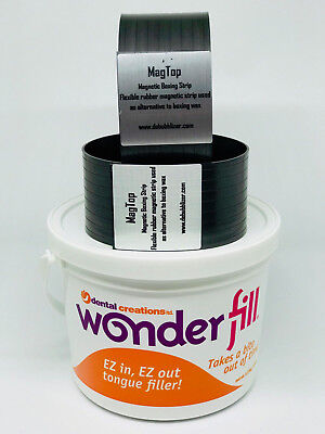 Wonderfill Tongue and Void Filler + Russman Magnetic Boxing Strips