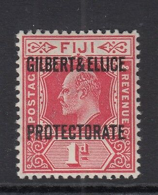 Gilbert and Ellice Islands 1911 1d red - Sg2 - mounted mint