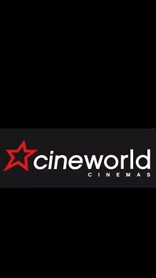 Cineworld 1 x Adult E-Codes for all 2D shows