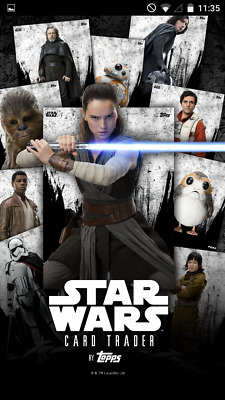 Topps Star Wars Card Trader - Pick Lot of ANY 9 Cards - Rey Jyn Leia Thrawn Luke