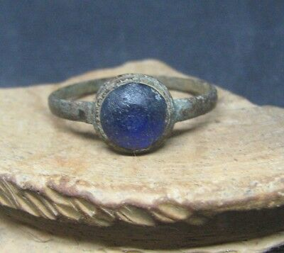 Ancient Medieval Ring with Stone