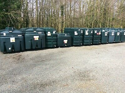 Bunded heating oil tanks, filled and tested ** free local delivery **