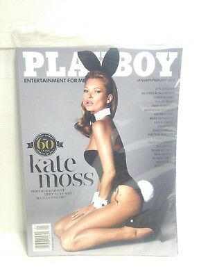 Playboy Magazine January February 2014 Kate Moss Special Edition 60 Years eb1881