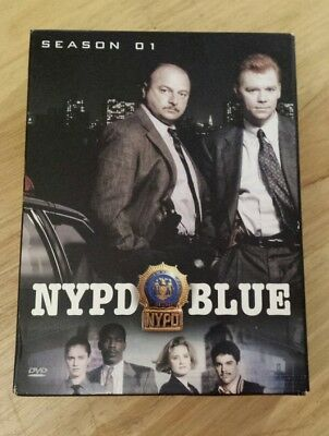 NYPD BLUE Complete First Season DVD Box Set 6 Discs
